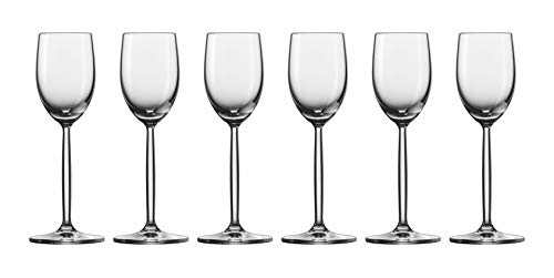 Set of 6 Schott Zwiesel Crystal 2.7 oz. Diva Liqueur Cordial Glasses by Fortessa