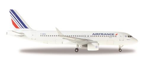 Herpa Wings 530606 Air France Airbus A320 'F-HEPH' 1/500 Scale Diecast Model