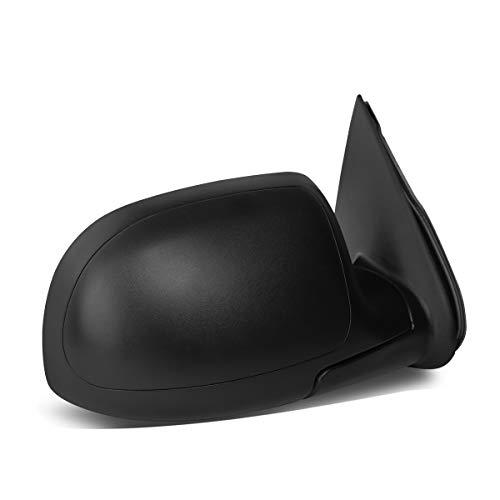For Chevy/GMC Silverado/Sierra Black Manual Telescoping Mirror (Right/Passenger) ()