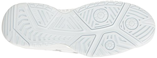 ASICS Damen Gel-Resolution 7 Tennisschuh Weißsilber