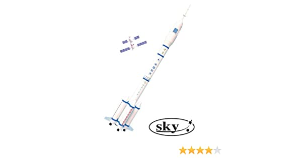 Sky Shenzhou Model Rocket Kit