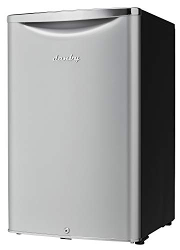 Danby DAR044A6DDB 4.4 cu.ft. Contemporary Classic Compact All Refrigerator, Iridium Silver Steel by Danby (Image #3)