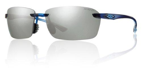 Active Sunglasses Lifestyle (Smith Optics Trailblazer Premium Lifestyle Polarized Active Sunglasses - Midnight Blue/Platinum / 67-13-130)