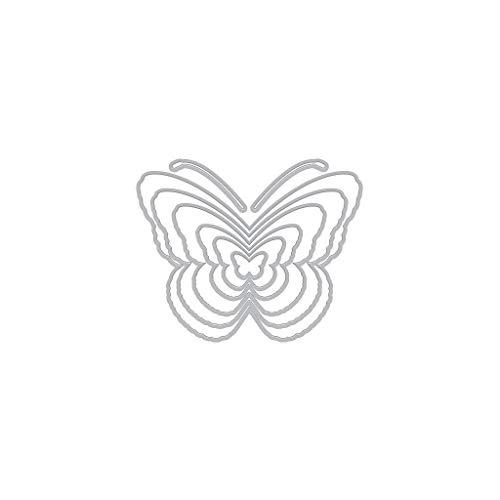 Hero Arts DI600 Infinity Dies, Nesting Butterflies ()
