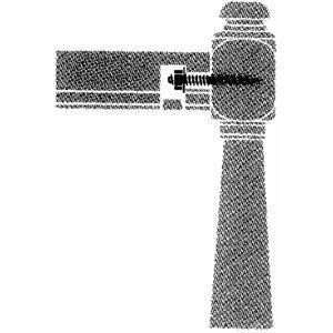 Hand Rail Bolt Fastener by BW Creative Wood ()