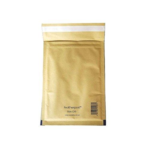 Envosafe ''Protect'' Gold Padded Postal Bag 150x215mm - 5 pack