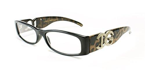 Newbee Fashion - Stylish Trendy Small Frame Large IG Logo Womens and Men Reading Glasses