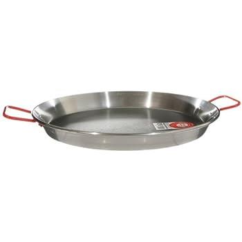 Amazon.com: MageFesa Carbon Steel Paella Pan, 12 Inch ...