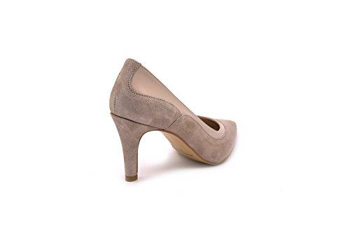 Conbuenpie by Almudena - Zapato de vestir piel mujer color Taupe