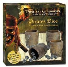 Pirates Of The Caribbean Dice Game - Pirates of the Caribbean-Dead Man's Chest Pirates Dice