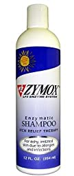 Zymox Itch Relief Shampoo with Vitamin D3, 12 oz [2-Pack]