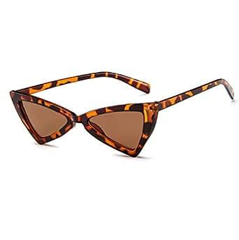 Brown Fashion Triangle Sunglasses
