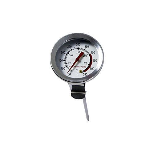 Deep Fry Thermometer Stainless Steel - Chard DFT-5 Deep Fry Thermometer, 5 Inch, Stainless Steel
