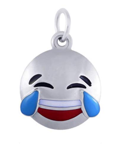 J&M Dangle Tears of Joy Emoji Charm for Bracelets