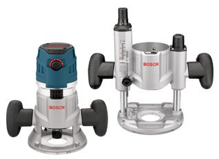 Bosch MRC23EVSK 2.3 HP Combination Plunge & Fixed-Base Variable Speed Router Pack