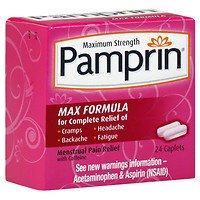 - Pamprin Maximum Strength Advanced Pain Relief, Max, Caplets, 24 ea - 2pc