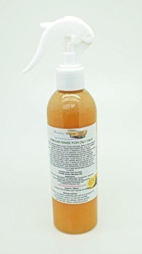 1 bouteille Vinaigre Rinçage pour Cheveux Gras, naturel et sans produits chimiques, 250ml