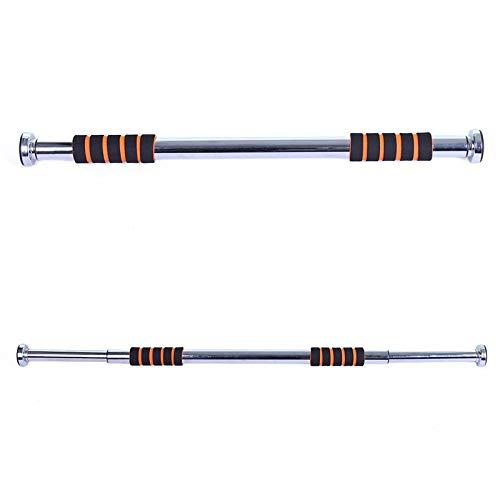 Plateado 6XXXXXXX3 FA Sports Barra de dominadas 64x3x3 Sillber//Schwarz 218 Klimmzugstange Professional Pull-Up Door Bar