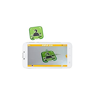 IVIEW popup Zoo Interactive 3D Flash Cards Game, Compatible for Apple/Android Tablets and Phones, Multicolor: Toys & Games