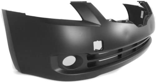 Make Auto Parts Manufacturing Front Primed Bumper Cover Facial with Fog Light Holes For Nissan Altima Sedan 2007 2008 2009 NI1000240