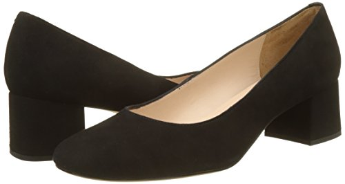 18 Black KS Zapatos de Unisa Mujer para Kermes Negro Tacón vSwfxn51zq