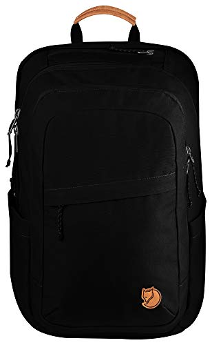 Fjallraven Raven 28L Laptop and Travel Everyday Carry Backpack - Black from Fjallraven