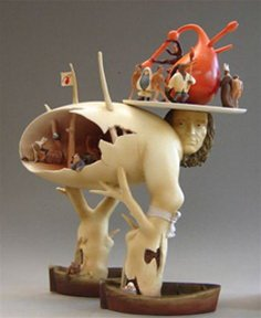 - Parastone Tree Man by Hieronymus Bosch Museum Replica Garden of Earthly Delights