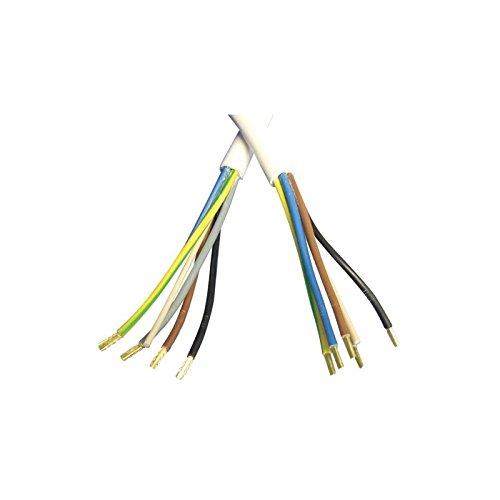 Piece constructor - Cable de conexión horno 2,5 m 5 x 2,5 para ...