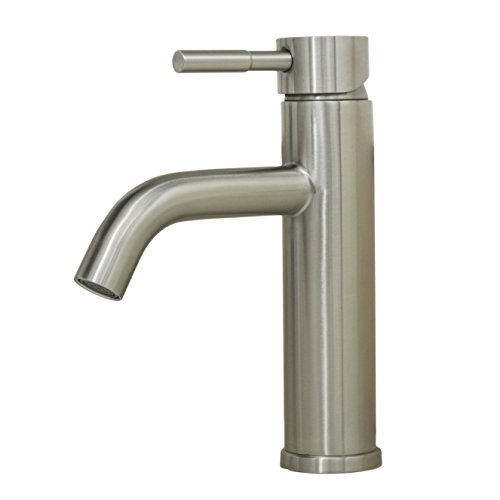 Wells Sinkware 308002 Alonza Renaissance Collection Single-Handle Lavatory Faucet, 8