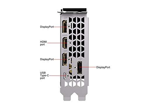 GIGABYTE GeForce RTX 2080 Super Turbo 8G Graphics Card, Turbo Style Fan, 8GB 256-Bit GDDR6, GV-N208STURBO-8GC Video Card