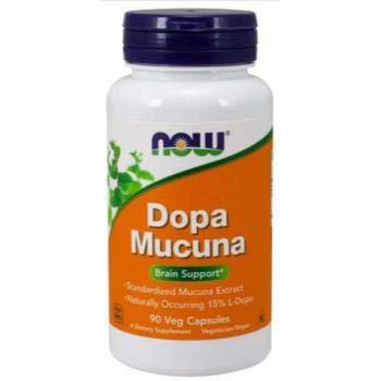 Now Foods DOPA Mucuna, 90 Vegetarian Capsules