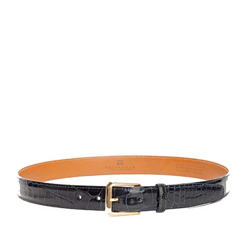 (Trafalgar Classic Alligator Belt (44, Navy))