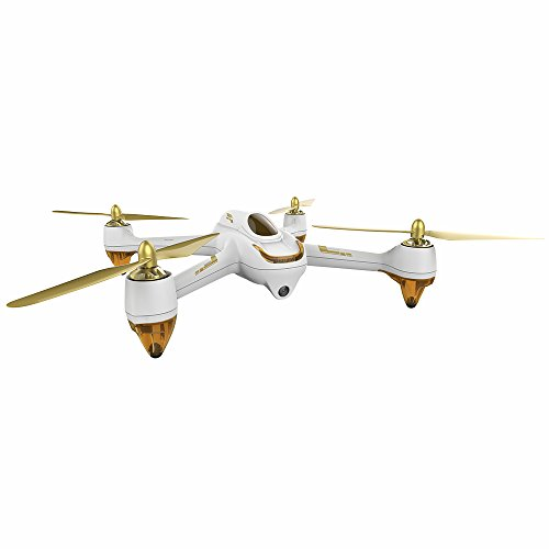 HUBSAN H501S X4 Drone GPS Altitude Mode 6 Axis Gyro 1080P FPV Brushless Quadcopter White-no Controller (H501S-35)