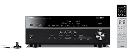 Yamaha RX-V679BL 7.2-Channel MusicCast  AV Receiver with Blu