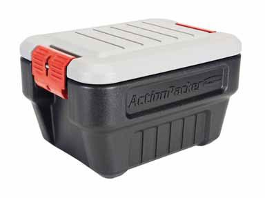 Rubbermaid 1170 ActionPacker Storage Box, 8-Gallon