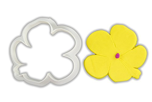 Hibiscus Flower Cookie Cutter - LARGE - 4 Inches