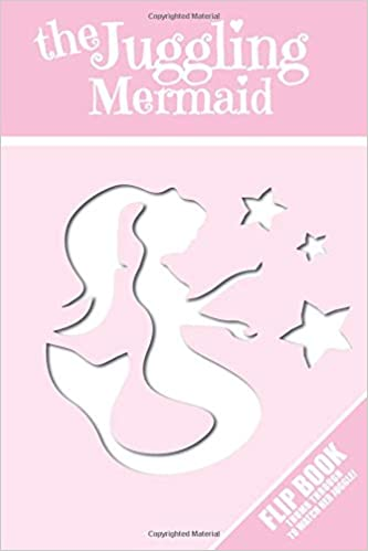 The Juggling Mermaid: Pink Journal with Page-Flip Animation