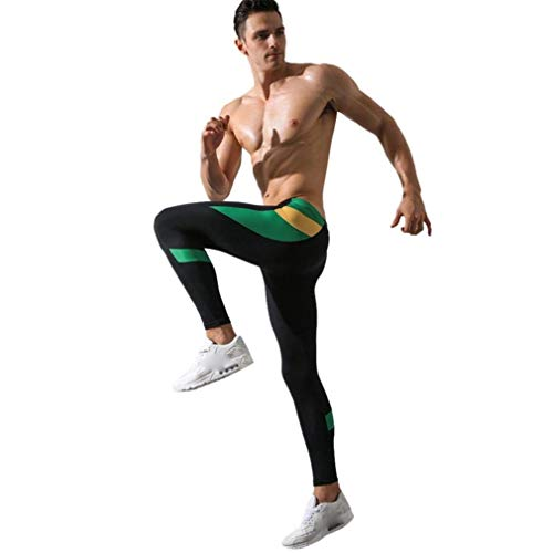 Negro Rise Trousers Basicas Leggings Low Al Hombres Long Patchwork Pantalones Libre Aire Thermal 4nHwqn7Xx
