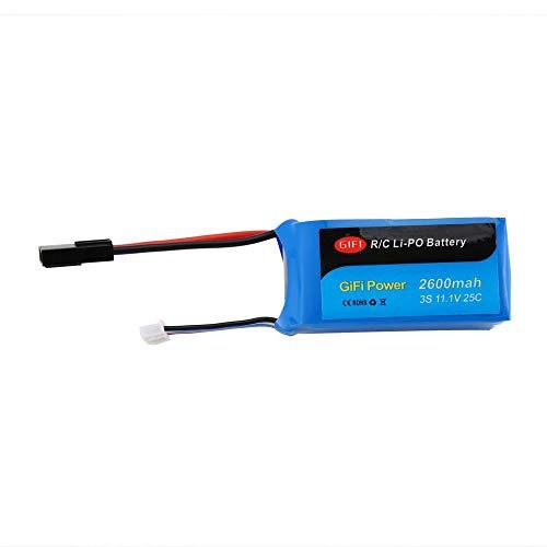Batería recargable de 11.1V 2600mAh LiPo Batería para PARROT AR ...