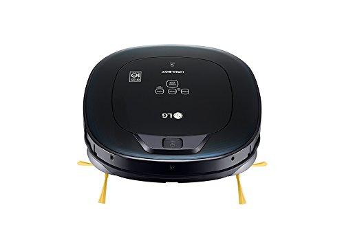 LG VR8600OB aspiradora robotizada Sin bolsa Negro 0,6 L - Aspiradoras robotizadas (Sin bolsa, Negro, Plaza, LED, 0,6 L, 60 dB): 260.94: Amazon.es: Hogar