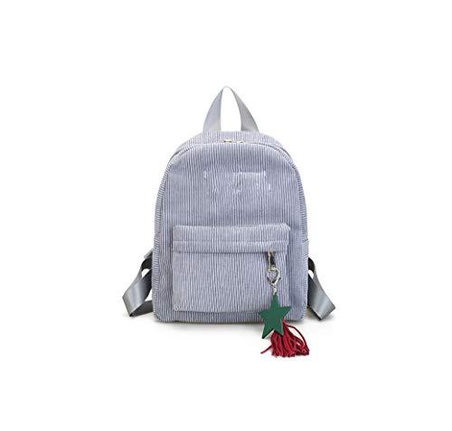 Rainie002 2019 Backpack Tassel Travel Backpacks Female Solid Color Zipper Women Backpack S Shoulder Bag,C Pink,32X25X9 Cm (Best Golf Swing Training Aids 2019)