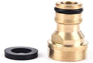 Fssh-MLX 新真鍮蛇口標準コネクタ洗濯マシンガンクイックコネクトガーデンツール用パイプの接続をフィッティング1PCS