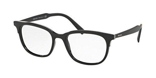 Prada Lettering Logo PR 05VV Black 55/19/145 Men Eyewear Frame (Prada Logo)
