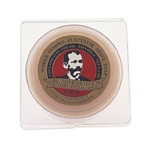 Col. Conk Bay Rum Glycerine Shave Soap - Conk Shave Soap