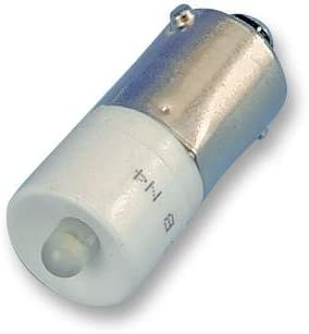 LED BA9S 24VAC//DC WHITE CLR Average Bulb Life 100000h Bulb Size 10mm Current Rating 15mA LED Colour