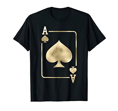 Ace of Spades Shirt Playing Card Halloween Costume ()