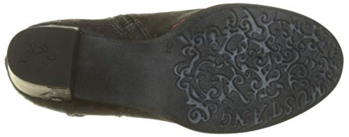 Noir Botines Stiefelette Mustang Femme multi 999 t8wqqzxRS