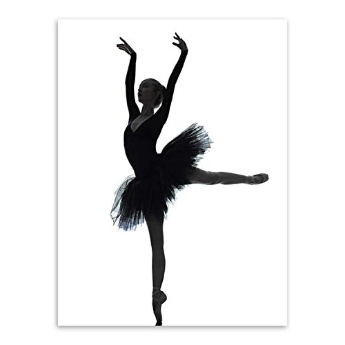 sensitives Modern Black White Elegant Beautiful Ballet for sale  Delivered anywhere in USA