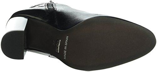 Buffalo Dames 4347 Groucho Korte Schacht Laarzen Zwart (zwarte 01)
