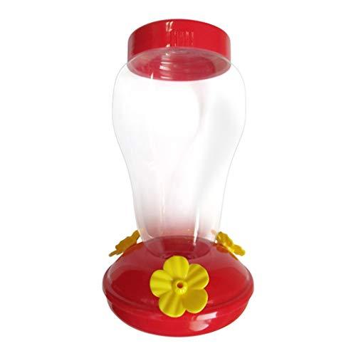 Orcbee  _Wide Mouth Waist Hummingbird Feeder Free Nectar Patio Yard Window Bird Gift